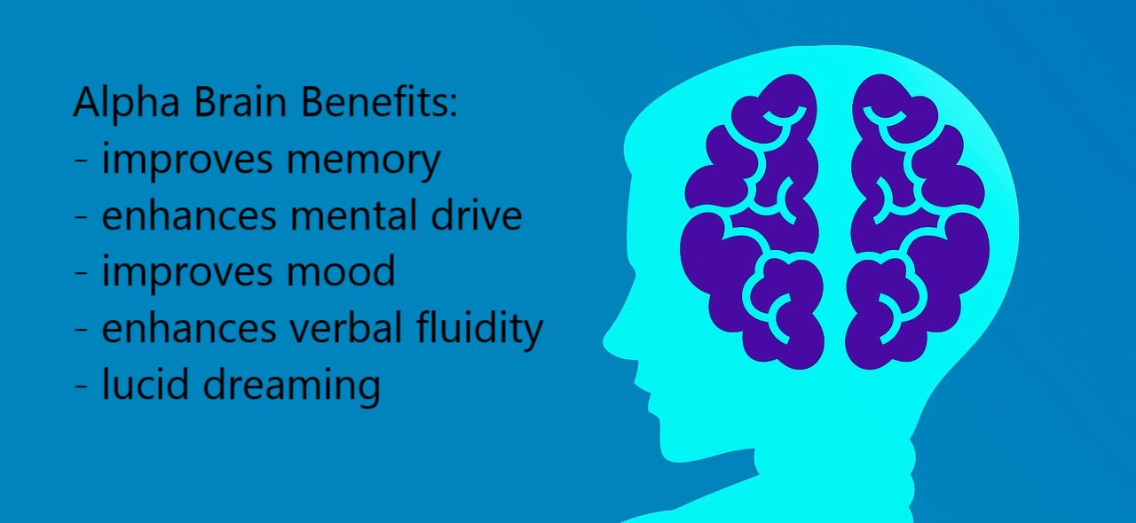 alpha brain benefits